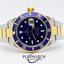 Rolex Submariner 16613 ACCIAIO E ORO GOLD NEVER POLISHED Ser Z