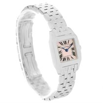 Cartier Santos Demoiselle Mother Of Pearl Dial Ladies Watch...