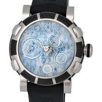 Romain Jerome Moon Dust DNA Steel Mood White LE Automatic...