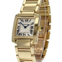 Cartier Ladies Tank Francaise Small Model 18ct
