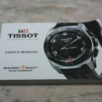 """Tissot booklet for """"racing touch"""" models"""