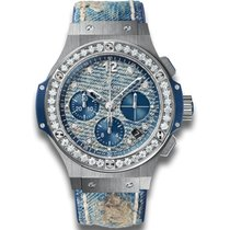 Hublot Big Bang Jeans Steel Diamonds Limited Edition