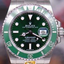 Rolex Oyster Perpetual Submariner Green Hulk Ref 116610lv (lnib)