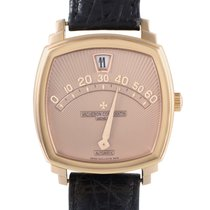 Vacheron Constantin Saltarello Mens Automatic Rose Gold Watch...