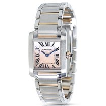 Cartier Tank Francaise W51027Q4 Ladies Watch in 18K Rose Gold...
