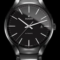 Rado True Automatic Index schwarz Datum -NEU-