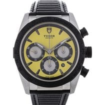 Tudor Fastrider 42 Yellow Dial Leather
