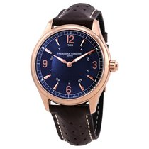 Frederique Constant Men's FC-282AN5B4 Blue Dial Horologica...