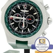 Breitling Bentley GMT British Racing Green A47362 Chronograph...