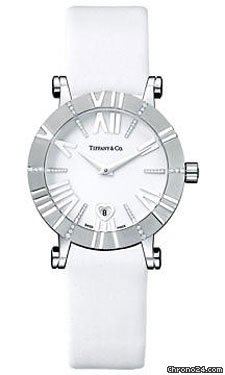 Tiffany Atlas Lady 30mm White Gold