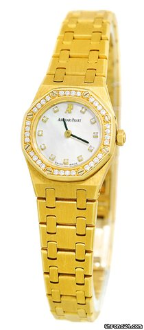 Audemars Piguet Lady&amp;#39;s Mini 18K Yellow Gold  Diamond Royal Oak [On Hold]
