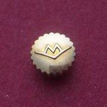 Movado Krone doublé rotgold nicht wasserdicht staubgeschützt
