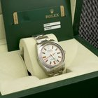 Rolex milgaus 116400 withe dial, new