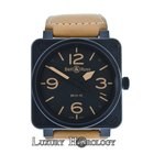 Bell & Ross Authentic BR01-92-S PVD 46mm Automatic Under...