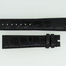 Zenith Lederband / Alligator / Schwarz - 21/18 Länge 125/90