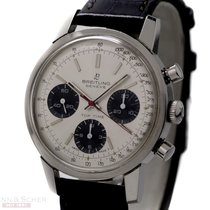 Breitling Vintage Top Time Chronograph Ref-810 Stainless Steel...