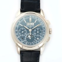 Patek Philippe White Gold Perpetual Calendar Chronograph Ref....