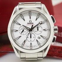 Omega 231.10.44.50.04.001 Aqua Terra Chronograph Silver Dial...