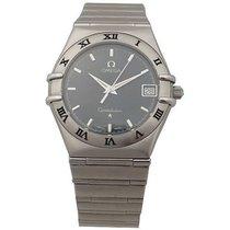 Omega montre omega constellation date 1552.862 35 mm quartz acier