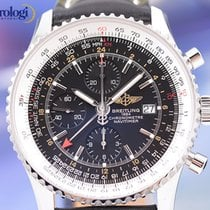 Breitling Navitimer World 46mm Chrono Automatic Mens Watch...