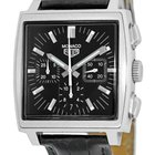 "TAG Heuer ""Monaco"" Automatic Chronograph Strapwatch."