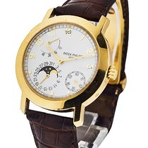 Patek Philippe 5055J-001 5055J Moon Phase and Power Reserve -...