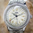 Oris Date Pointer Ref 7465 B Stainless Steel Automatic 1990s...