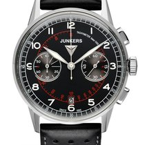 Junkers G38 Chronograph 6970-2 schwarz 42 mm 10 ATM