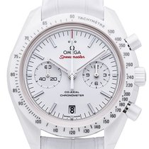 Omega Speedmaster Moonwatch White  Side of the Moon