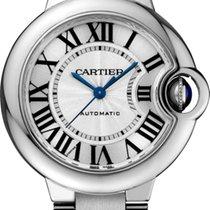 Cartier BALLON BLEU DE CARTIER WATCH  33 mm, Steel, Steel Band