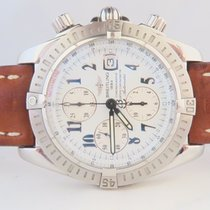 Breitling Chronomat Evolution 44mm Steel White Dial