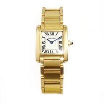 Cartier Tank Francaise Lady 18K Yellow Gold