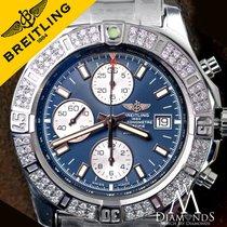 Breitling Diamond Breitling Colt Chronograph Stratus Blue Dial...