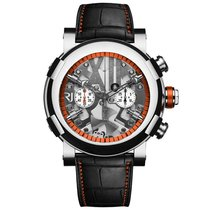 Romain Jerome STEAMPUNK CHRONO ORANGE