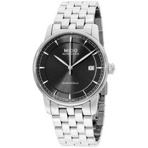 Mido Baroncelli Ii Grey Dial Stainless Steel Automatic...