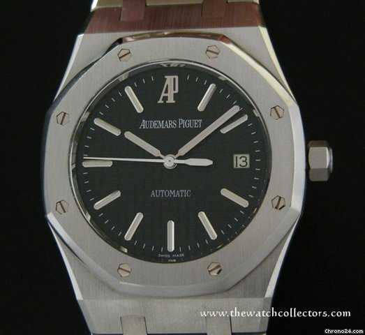 "Audemars Piguet Royal Oak Jumbo ""Ref.15300 Black Dial "" Full Set [ ON HOLD ]"