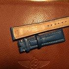 Breitling bracelet veau bleu