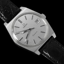 Omega 1972 Geneve Vintage Mens Watch, Quick-Setting Date - SS