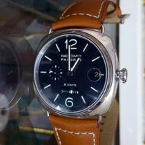 Panerai radiomir 8 days steel watch