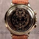 Doxa 14kt. Pink Gold Regulator Chronograph Cal. Venus 140