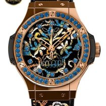 Hublot - BIG BANG - BRODERIE SUGAR SKULL GOLD