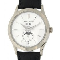 Patek Philippe Annual Calender 5396g White Gold, Leanther, 38mm