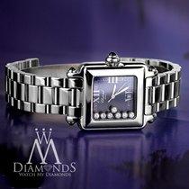 Chopard Happy Sport Classic Square 7 Floating Diamonds...