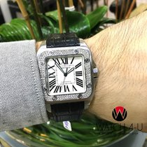 Cartier Santos 100 XL 2656 W20073X8 2ct VS Diamonds