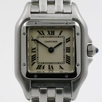 """Cartier """"Panthere PM"""" Steel case and bracelet"""