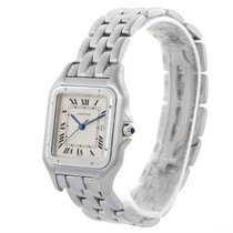 Cartier Panthere Jumbo Stainless Steel Date Watch W25032p5