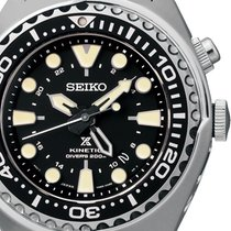 Seiko SUN019P1 Prospex Kinetic Diver GMT 200M 48mm
