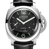 Panerai Luminor 1950 GMT Stainless Steel Men`s Watch