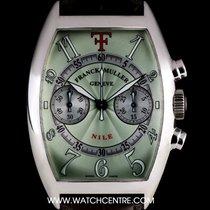 Franck Muller 18k W/G Green Dial Ltd Ed Theo Fennell Nile...