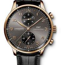 IWC Portuguese Chronograph Rose Gold Ardoise Dial